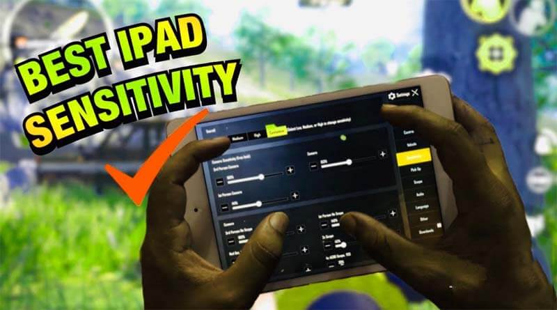 IPad Mini 5 Sensitivity Settings in PUBG Mobile || 100% Recoil Control