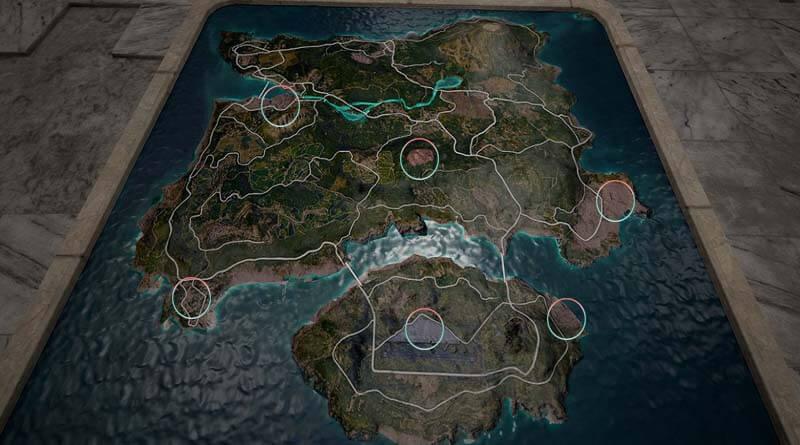 Landing Spots on Erangel Map in PUBG Mobile
