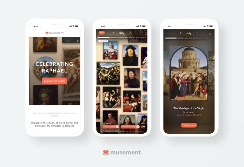 Musement Raphael Virtual Museum
