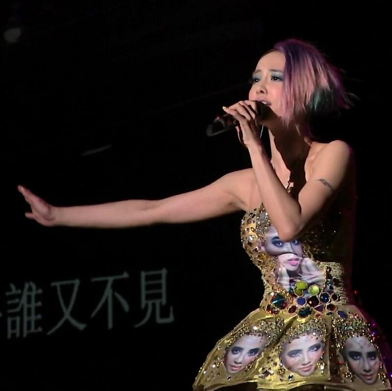 2012/10/06(土) 蔡依林MUSE臺南新歌演唱會(その4:本番編2) - 節々が痛い。