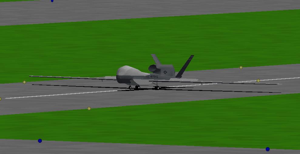 ついに來たRQ-4無人偵察機 - f.eagle's Flight Log
