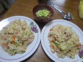 炒飯で家食 - butataroの岡山グルメ紀行