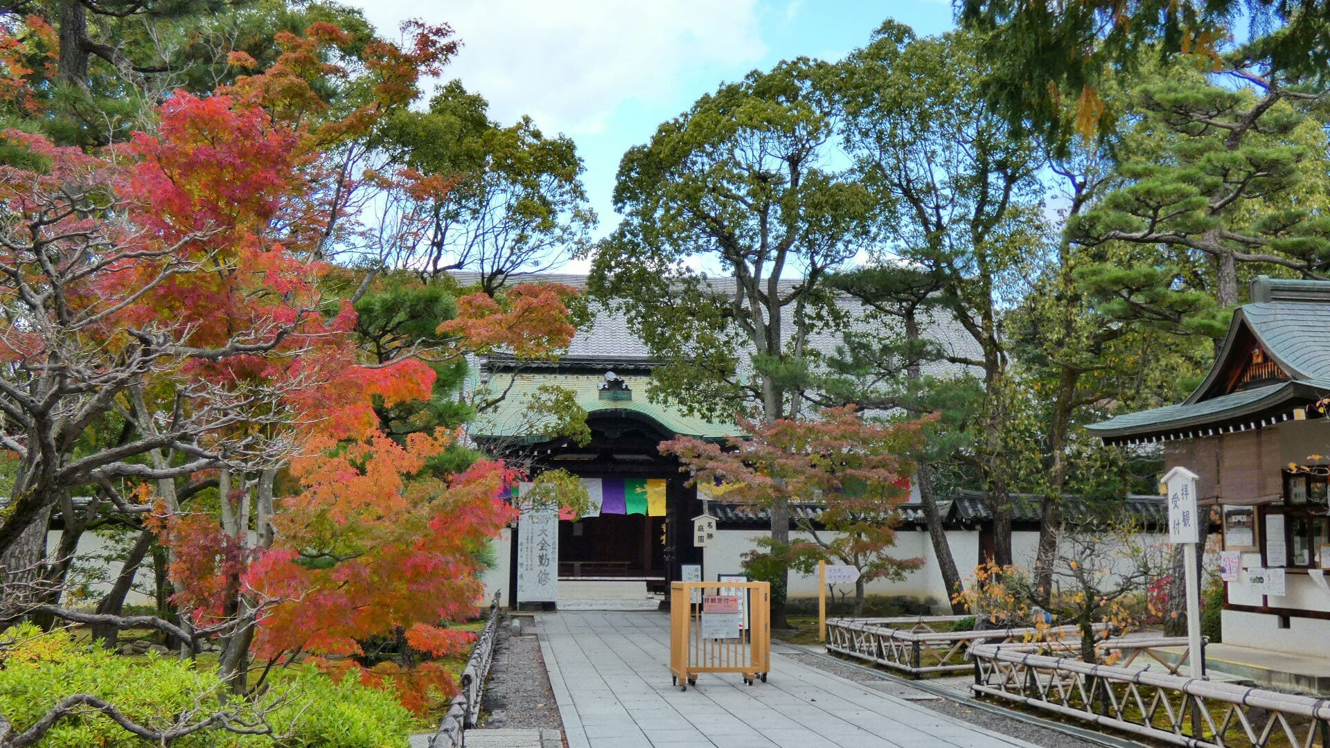 智積院の紅葉 見頃 - 京都で定年後生活