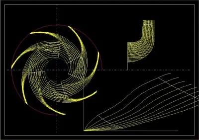 高効率3次元羽根を設計出來る「流線法」を説明します - 流體機械設計と流體解析シミュレーション