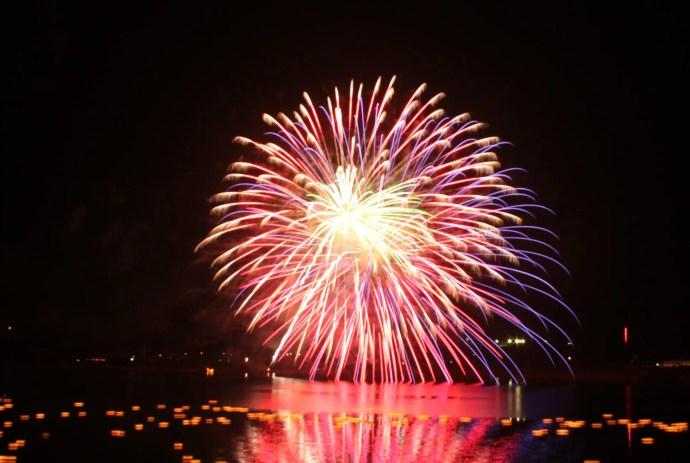 江の川花火大会