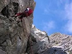 北岳バットレス 中央稜ノーマルルート こんな所登れるの? - ばいくのりのクライマー