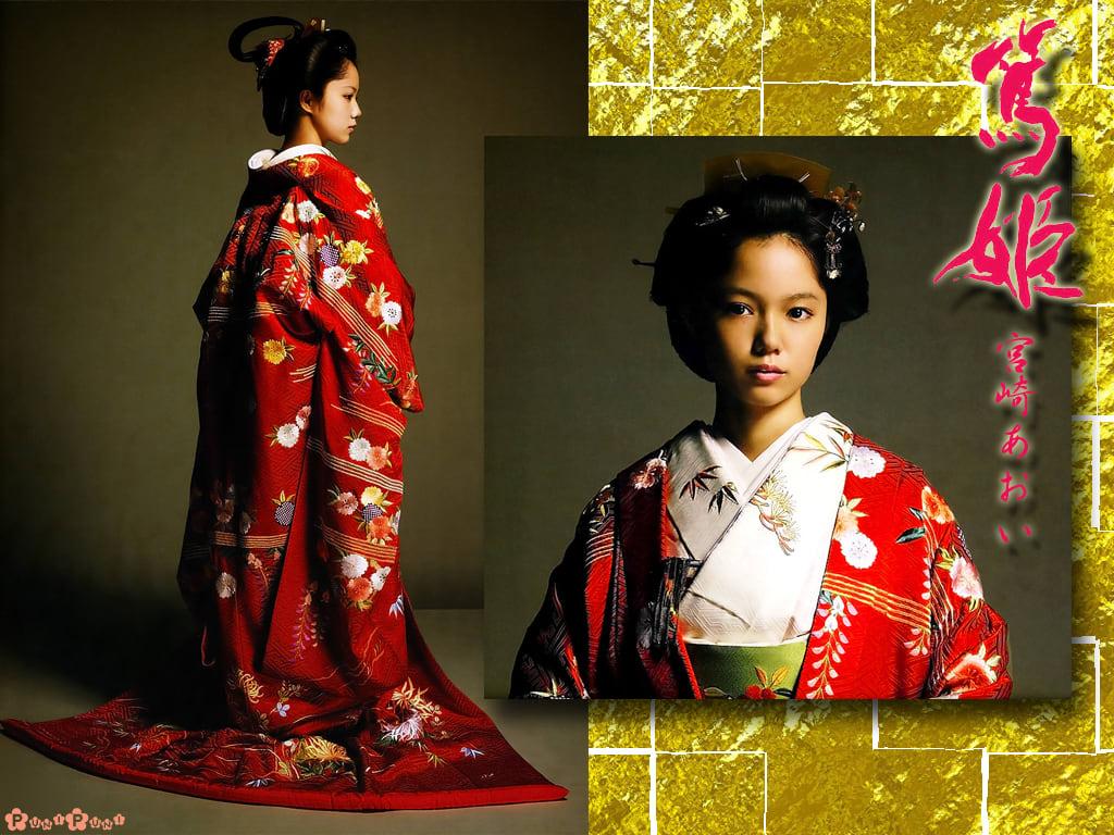 篤姫の壁♪ - プニプニの壁紙職人への道☆彡【自作壁紙ブログ】
