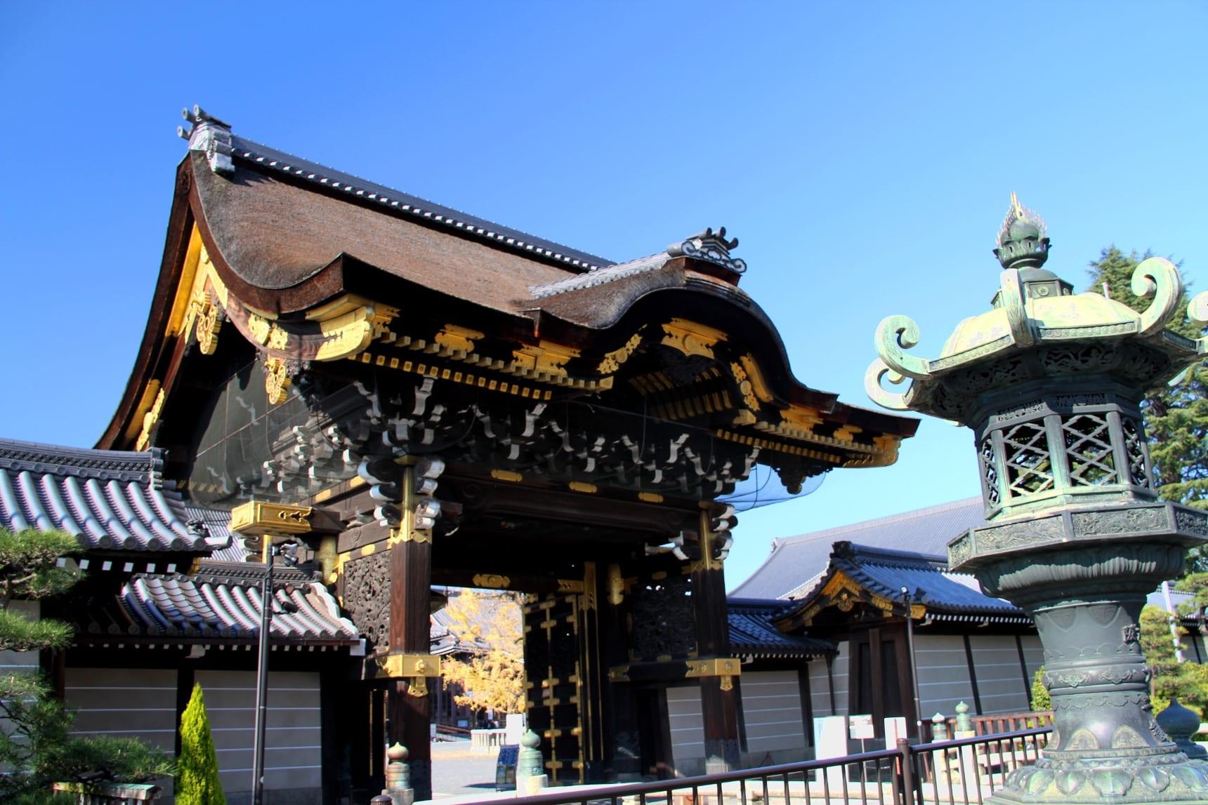 2017 京都の紅葉 西本願寺の銀杏 - おかたんのブログ