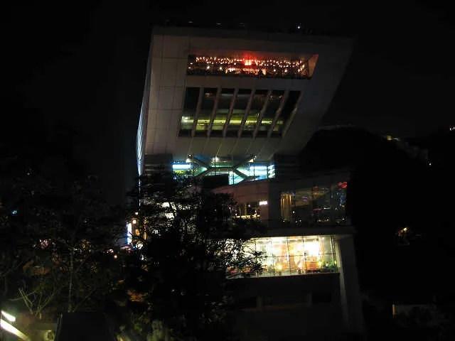 香港旅行08 ビクトリアピークから百萬ドルの夜景 - ほーしざきの散歩道