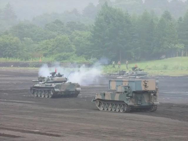 陸上自衛隊富士學校・富士駐屯地 開設56周年記念行事 その5 - みやしたの気まぐれblog