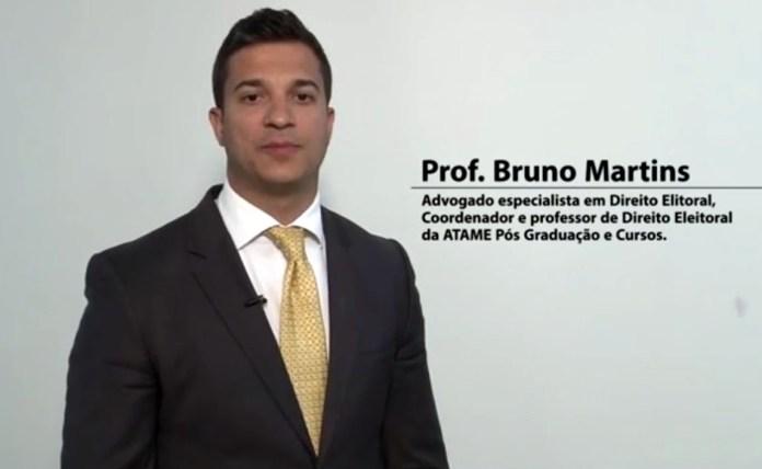 Bruno Fontes Lacerda Martins, advogado eleitoralista, é o novo desembargador do TRE/DF.