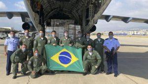 Os dois aviões em que a delegação viajou, um KC-390 Millennium e um VC-2 (Embraer 190) levando insumos, medicamentos e alimentos ao Líbano já se encontram no Distrito Federal