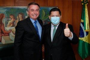 Jair Bolsonaro & David Alcolumbre
