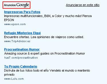 Anuncios Google con Imágenes