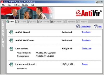 Antivirus eficaz, Avira AntiVir