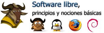 Software libre, principios y nociones básicas