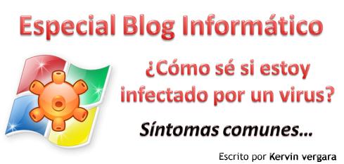 Posible infección de virus