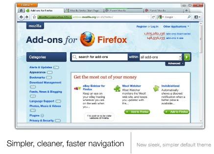 Firefox 4.0 - Primeras impresiones