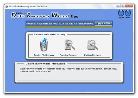 Recuperar archivos borrados por accidente con Data Recovery Wizard Free Edition
