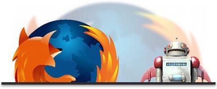 Firefox actualizándose