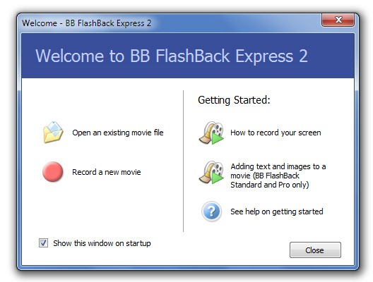 BB FlashBack Express