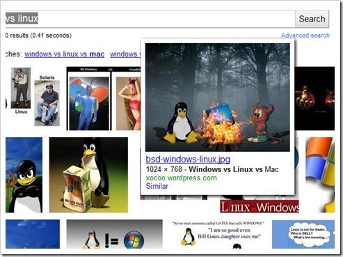Información de imágenes de Google