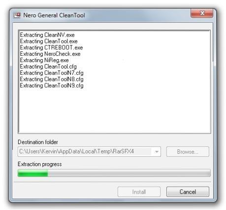Nero General CleanTool