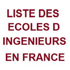 Liste des Ecoles d'Ingénieurs en France