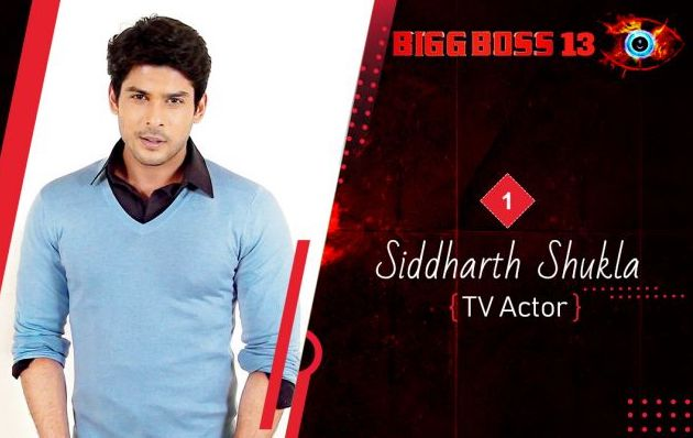 Sidharth Shukla as Biggboss 13 contestant