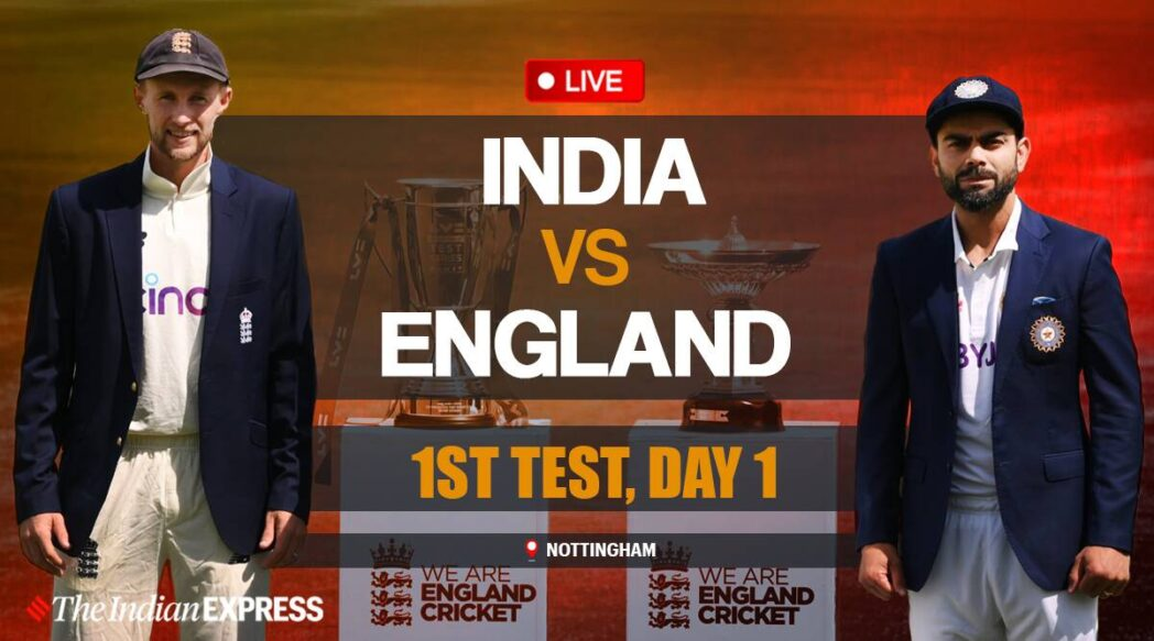 Watch live india vs England match 1st test 2021 in Hindi