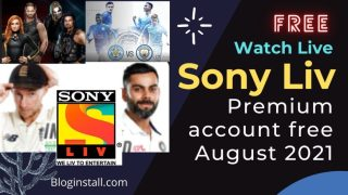 Sony Liv Premium Account free ID and Password August 2021 [100% Working]