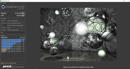 Cinebench - Ultrabook Dell Latitude E7440