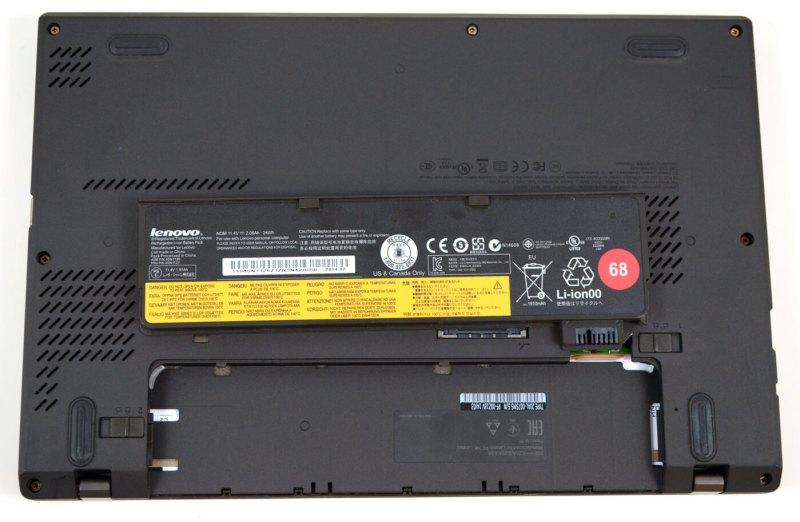 Lenovo ThinkPad X240 - baterie detasabila