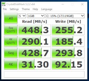 Probook 430 G1 - test de viteza SSD