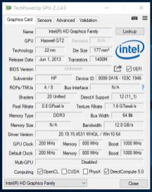 Probook 430 G1 - GPU-Z