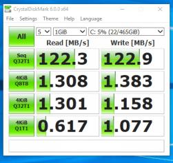 Workstation Fujitsu CELSIUS W530 - Test viteza HDD