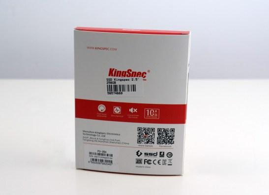 Ambalaj SSD KingSpec P3-256