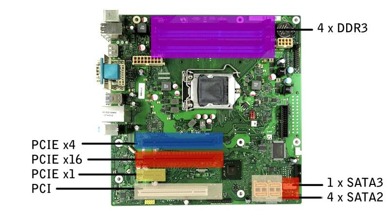 Fujitsu Esprimo P710 - placa de baza