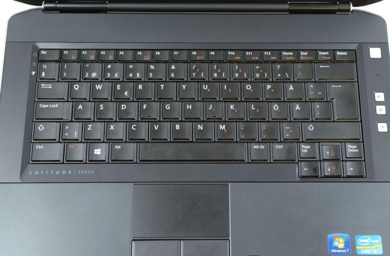 Dell Latitude E5430 - tastatura si touchpad