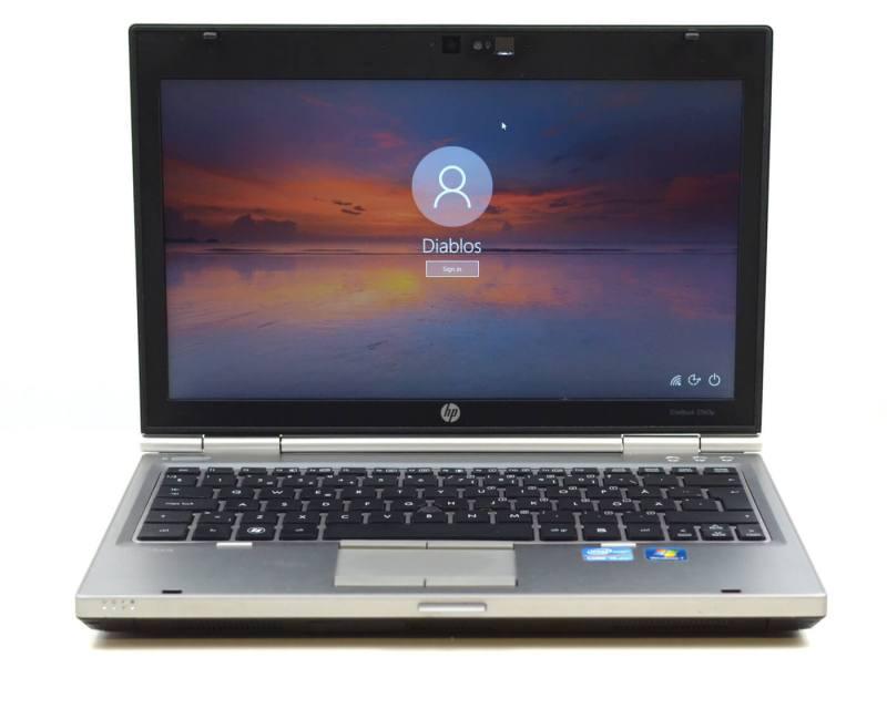 HP EliteBook 2560p - vedere generala ecran