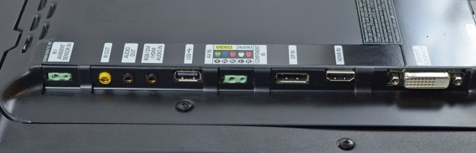Samsung LH32MEB - porturi disponibile #2