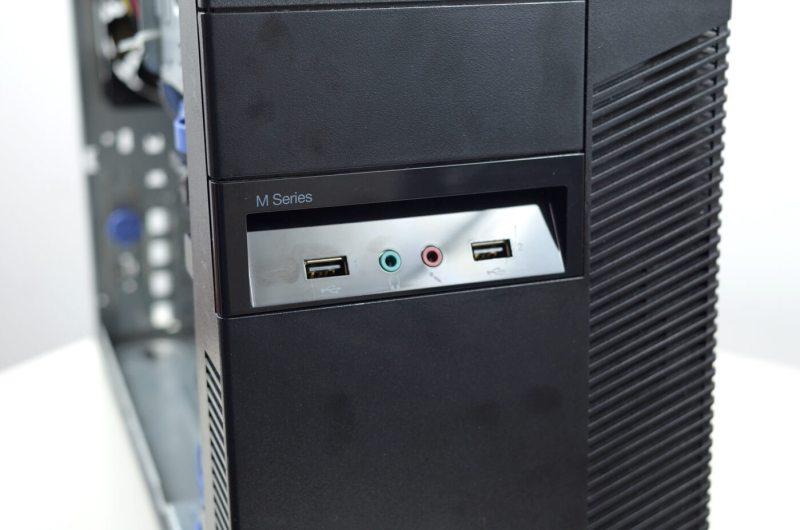 Lenovo ThinkCentre M82 - panel frontal cu 2 mufe USB 2.0 si doua jack-uri audio