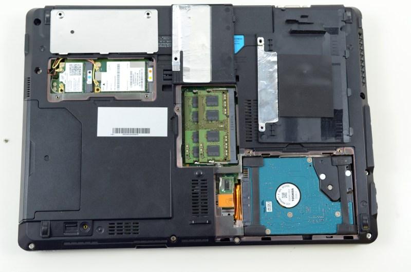 Fujitsu LifeBook S762 - vedere componente
