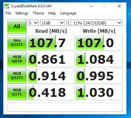 Lenovo ThinkCentre M82 - Test viteza hard disk