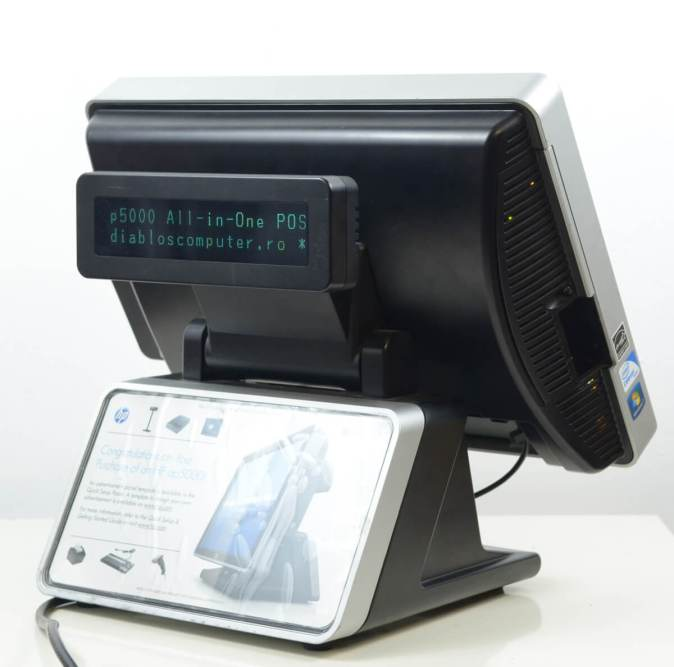 POS All-in-One HP AP5000 - vedere generala spate #1