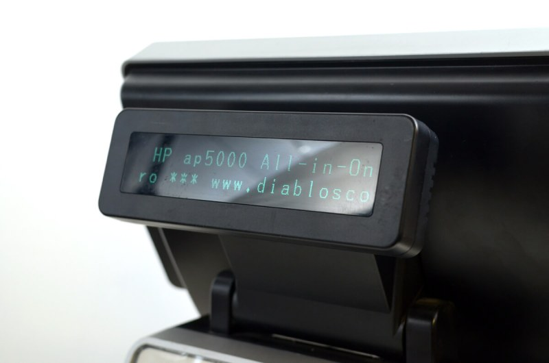 POS All-in-One HP AP5000 - display client VFD