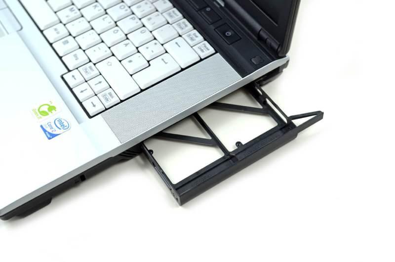Fujitsu LifeBook E8420 - slot dvd / caddy