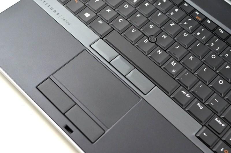 Dell Latitude E6530 - touchpad