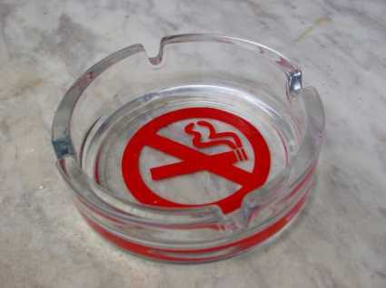 The Non-Smoking Non-Ashtray