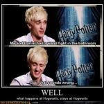 Malfoy Comes Out of the Closet